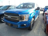 2019 Velocity Blue Ford F150 XL SuperCrew 4x4 #132294144