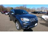 2019 Blue Metallic Ford Explorer Limited 4WD #132292880