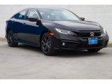 2019 Crystal Black Pearl Honda Civic Sport Sedan #132292853