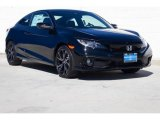 2019 Crystal Black Pearl Honda Civic Sport Coupe #132292850
