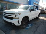 2019 Summit White Chevrolet Silverado 1500 RST Double Cab 4WD #132318638