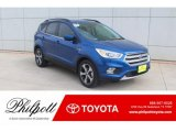 2017 Lightning Blue Ford Escape SE #132318546