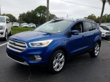 2019 Lightning Blue Ford Escape Titanium #132318734