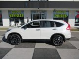 2016 White Diamond Pearl Honda CR-V SE #132342276