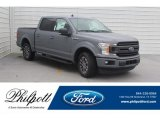 2019 Abyss Gray Ford F150 XLT SuperCrew #132342205