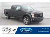 2019 Agate Black Ford F150 STX SuperCrew #132342203
