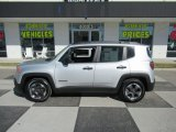 2017 Glacier Metallic Jeep Renegade Sport #132342270