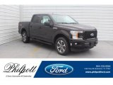 2019 Magma Red Ford F150 STX SuperCrew 4x4 #132342200