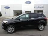 2019 Agate Black Ford Escape SE 4WD #132342433