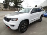 2017 Bright White Jeep Grand Cherokee Trailhawk 4x4 #132342092