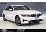 2019 Mineral White Metallic BMW 3 Series 330i Sedan #132342255