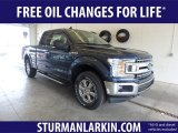 2019 Blue Jeans Ford F150 XLT SuperCab 4x4 #132342170