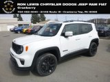 2019 Alpine White Jeep Renegade Latitude 4x4 #132342115