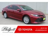 2019 Ruby Flare Pearl Toyota Camry LE #132342228