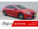 2019 Supersonic Red Toyota Camry SE #132342220