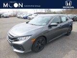 2019 Polished Metal Metallic Honda Civic EX Hatchback #132365629