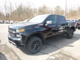 2019 Black Chevrolet Silverado 1500 Custom Z71 Trail Boss Crew Cab 4WD #132365557