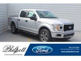 2019 Ingot Silver Ford F150 STX SuperCrew 4x4 #132365668