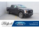 2019 Agate Black Ford F150 STX SuperCrew 4x4 #132365665