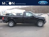 2019 Agate Black Ford F150 XL Regular Cab 4x4 #132365651