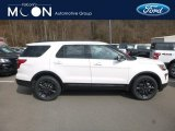 2019 Oxford White Ford Explorer XLT 4WD #132365649