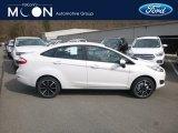2019 Oxford White Ford Fiesta SE Sedan #132365647