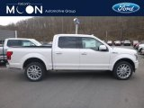 2019 White Platinum Ford F150 Limited SuperCrew 4x4 #132365644