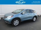 2014 Mountain Air Metallic Honda CR-V EX-L AWD #132388468
