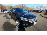 2019 Agate Black Ford Escape Titanium 4WD #132410022
