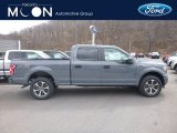 2019 Abyss Gray Ford F150 STX SuperCrew 4x4 #132419623