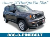 2019 Granite Crystal Metallic Jeep Renegade Latitude 4x4 #132419538