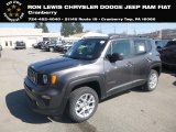 2019 Granite Crystal Metallic Jeep Renegade Latitude 4x4 #132419567