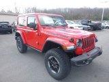 2019 Jeep Wrangler Firecracker Red