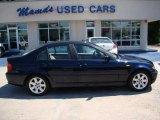 2003 Orient Blue Metallic BMW 3 Series 325i Sedan #13239143