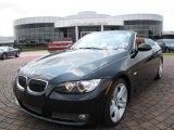 2008 Black Sapphire Metallic BMW 3 Series 335i Convertible #13241523
