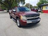 2009 Deep Ruby Red Metallic Chevrolet Silverado 1500 LT Extended Cab #132439107