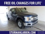 2019 Blue Jeans Ford F150 XLT SuperCab #132453532