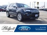 2019 Agate Black Ford Explorer XLT #132453558