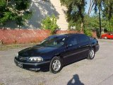 2001 Navy Blue Metallic Chevrolet Impala LS #13242723