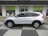2014 Alabaster Silver Metallic Honda CR-V EX-L AWD #132453583