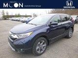2019 Obsidian Blue Pearl Honda CR-V EX-L #132475572