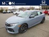 2019 Sonic Gray Pearl Honda Civic Sport Hatchback #132475570