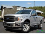 2019 Ingot Silver Ford F150 XL Regular Cab 4x4 #132475379