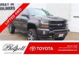 2016 Tungsten Metallic Chevrolet Silverado 1500 LT Crew Cab 4x4 #132475620