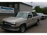 2006 Silver Birch Metallic Chevrolet Silverado 1500 Regular Cab #13236257