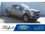 2019 Abyss Gray Ford F150 Lariat Sport SuperCrew 4x4 #132513082