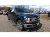 2019 Blue Jeans Ford F150 XLT SuperCab 4x4 #132513113