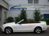 2006 Performance White Ford Mustang GT Premium Convertible #13223869