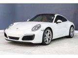 2017 Porsche 911 Carrara White Metallic
