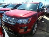 2019 Ruby Red Ford Explorer XLT 4WD #132538032